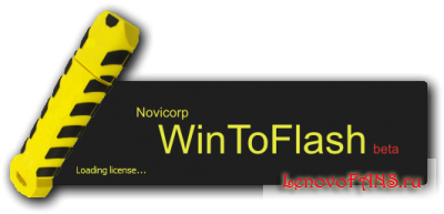 Novicorp WinToFlash 0.7.0054 - ��������� ��� ��������� Windows � ������